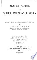 Spanish Reader of South American History