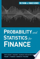 Probability and Statistics for Finance Book