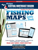 Michigan   Central Northeast Region Fishing Map Guide