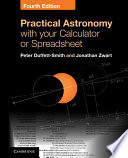 Practical Astronomy with your Calculator or Spreadsheet