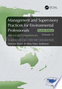 Management and Supervisory Practices for Environmental Professionals
