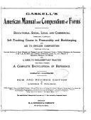 Gaskell's American Manual and Compendium of Forms, Educational, Social, Legal and Commercial