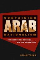 Containing Arab Nationalism