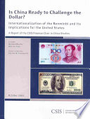 Is China Ready to Challenge the Dollar? Pdf/ePub eBook