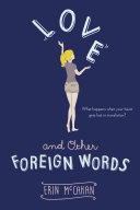 Love and Other Foreign Words Book