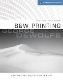 Digital Maters, B and W Printing