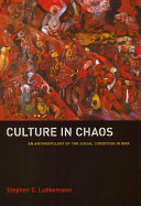 Pdf Culture in Chaos Telecharger