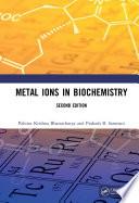 Metal Ions in Biochemistry