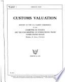 Customs Valuation
