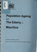 Population Ageing and the Elderly in Mauritius
