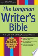 The Longman Writer's Bible