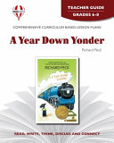 A Year Down Yonder Teacher Guide Book