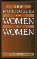 New Monologues For Women By Women