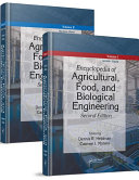 Encyclopedia of Agricultural, Food, and Biological Engineering, Second Edition - 2 Volume Set (Print Version)