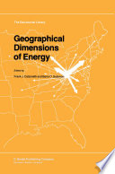 Geographical Dimensions of Energy