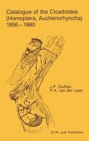 Catalogue of the Cicadoidea (Homoptera, Auchenorhyncha) 1956-1980