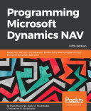 Programming Microsoft Dynamics NAV   Fifth Edition