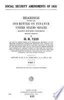Social Security Amendments of 1955