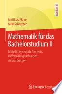 Mathematik für das Bachelorstudium II