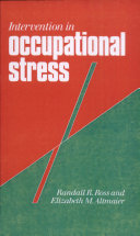 Intervention in Occupational Stress