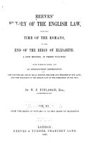 From the reign of Edward IV. to the reign of Elizabeth
