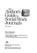 An Author S Guide To Social Work Journals