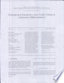 Fundamental Parameters Line Profile