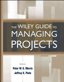 Cover of The Wiley guide to managing projects