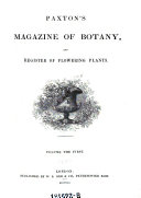 Magazine of Botany and Register of Flowering Plants