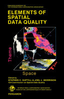 Elements of Spatial Data Quality