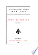 The Novels and Other Works of Lyof N. Tolstoï: Anna Karenina