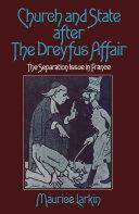 Church and State after the Dreyfus Affair [Pdf/ePub] eBook