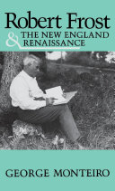 Pdf Robert Frost and the New England Renaissance
