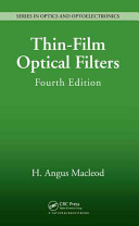 Thin Film Optical Filters  Fourth Edition