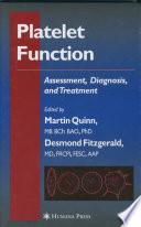 Platelet Function Book PDF