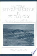Feminist reconstructions in psychology  : narrative, gender, and performance