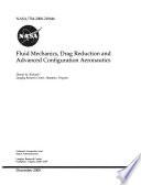 Fluid Mechanics  Drag Reduction and Advanced Configuration Aeronautics