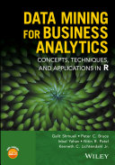 Pdf Data Mining for Business Analytics Telecharger