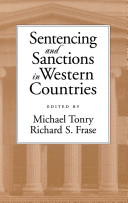 Sentencing and Sanctions in Western Countries Pdf/ePub eBook