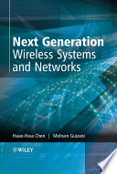 Next Generation Wireless Systems and Networks Book