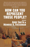How Can You Represent Those People?