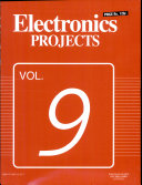 Electronics Projects Vol  9