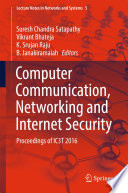 Computer Communication  Networking and Internet Security Book