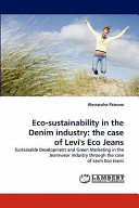 Eco Sustainability in the Denim Industry