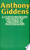 A Contemporary Critique of Historical Materialism