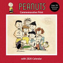 Peanuts Commemorative Print With 2020 Calendar