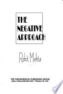 The Negative Approach