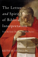 The Letter and Spirit of Biblical Interpretation