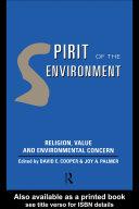 Spirit of the Environment