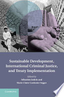Sustainable Development  International Criminal Justice  and Treaty Implementation